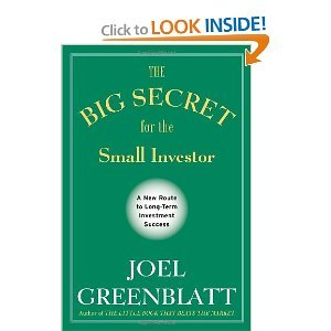 "Book Review: ""The Big Secret for the Small Investor"" by Joel Greenblatt"