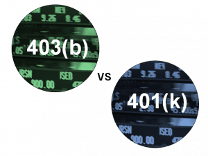 403b vs 401k
