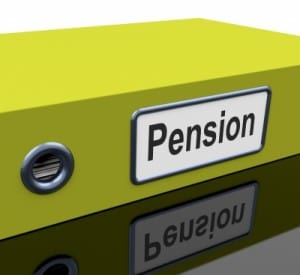 File With Pension Word by Stuart Miles