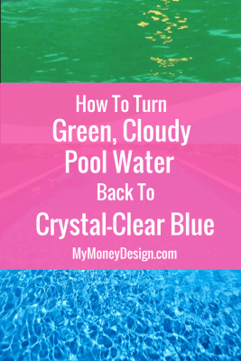 How to Turn Green Cloudy Pool Water Back to Blue