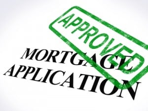 Mortgage Application Approved Stamp by Stuart Miles