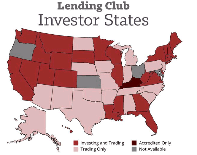 """Lending Club tried to come to Texas, only to be met by an angry, gun-toting Rick Perry saying something about """"not allowin' your types around here"""". [Photo courtesy of lendingmemo.com]"""