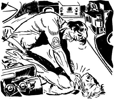 It's a stupid question. Prosper doesn't let you do this when someone defaults. [Photo courtesy of Treachery In Outer Space by Cary Rockwell, 1945. public-domain.zorger.com]