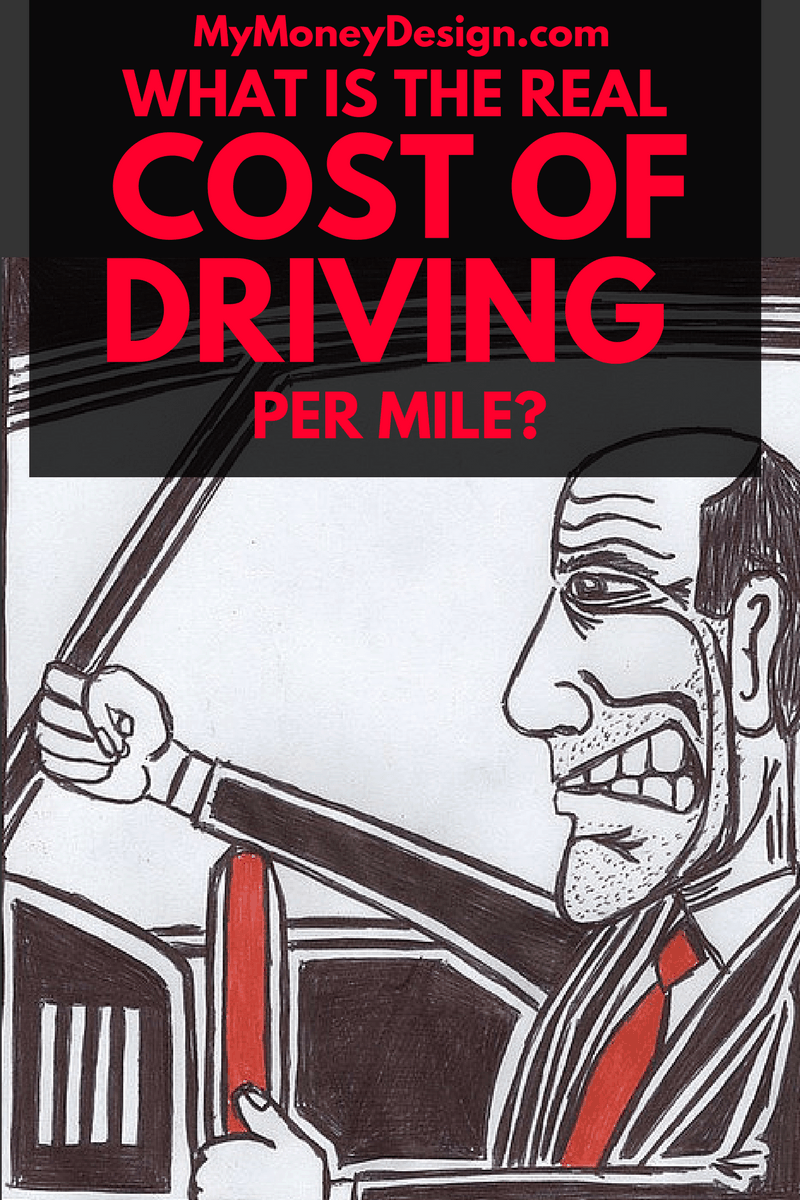 What Is The Real Cost Of Driving Per Mile My Money Design
