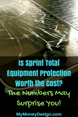 Every cell phone dealer tries to sell you on the idea that you NEED to have insurance on your device. But at the rates they're charging, does this make sense? Let's take a closer look at the Sprint Total Equipment Protection plan and really see if its worth it.  MyMoneyDesign.com