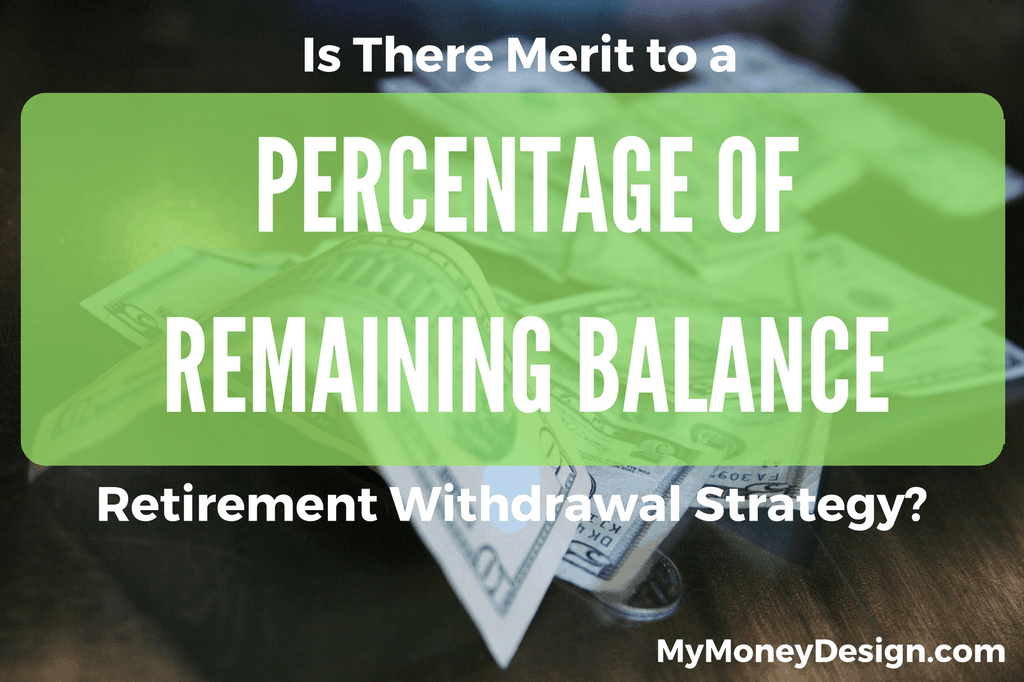 Percentage of Remaining Portfolio Retirement Withdrawal Strategy