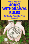 What Are the 401(k) Withdrawal Rules for Early, Penalty-Free Access?