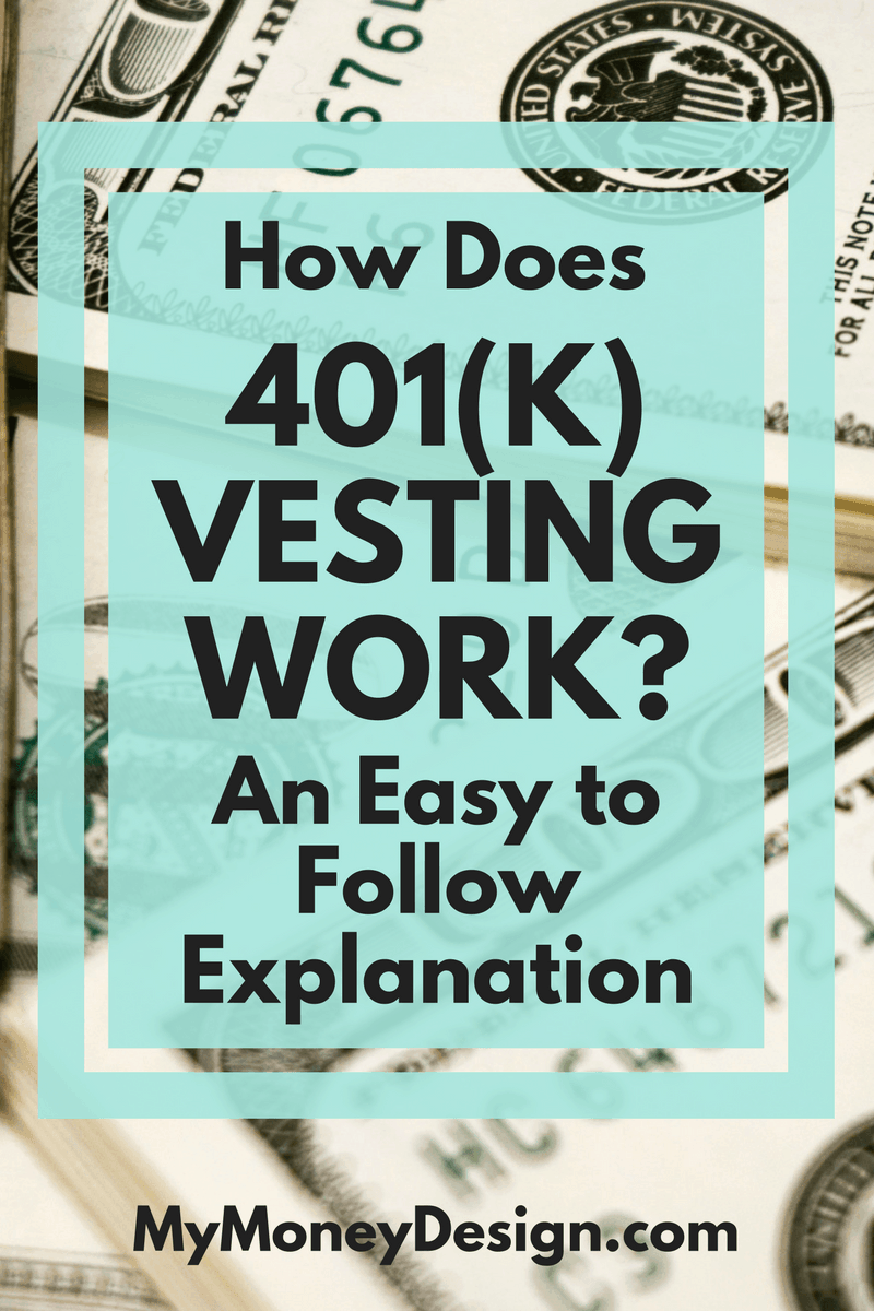 how does 401 k vesting work an easy to follow explanation