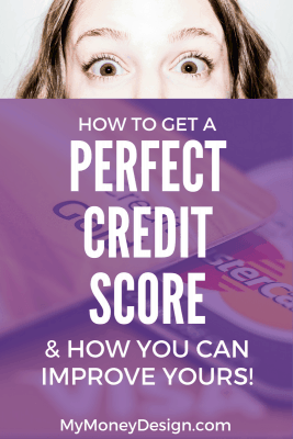 I apply for new credit cards all the time to take advantage of the great rewards they offer. But does that hurt my credit? With a FICO score of 797, not at all! Here's why that is and how to get a perfect credit score. - MyMoneyDesign.com