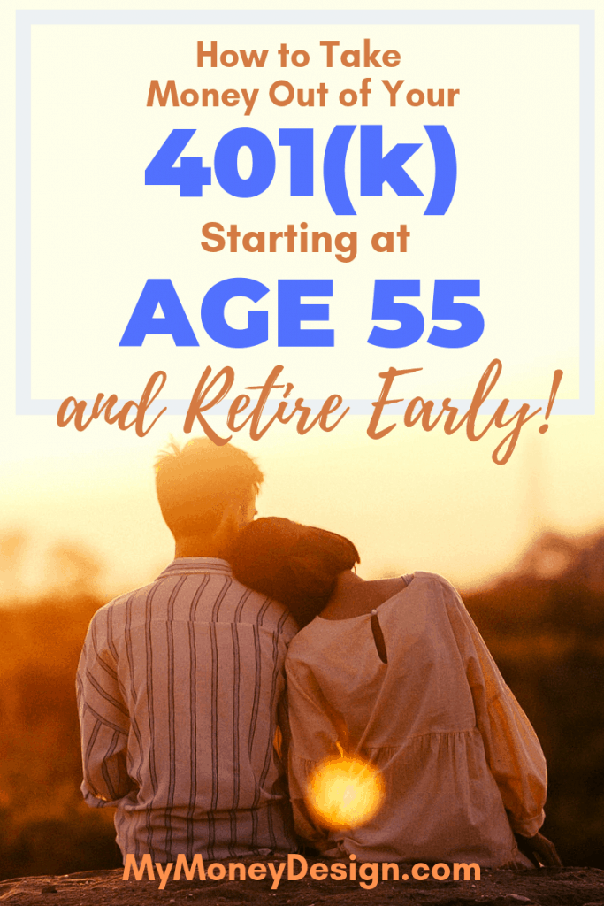 You don't have to wait until age 59-1/2 to get access to your retirement savings. There's a little-known secret called the 401(k) age 55 rule that will allow you to start making penalty-free withdrawals as early as age 55. Here's what you need to know. #MyMoneyDesign #RetireEarly #FinancialFreedom #401kAge55Rule