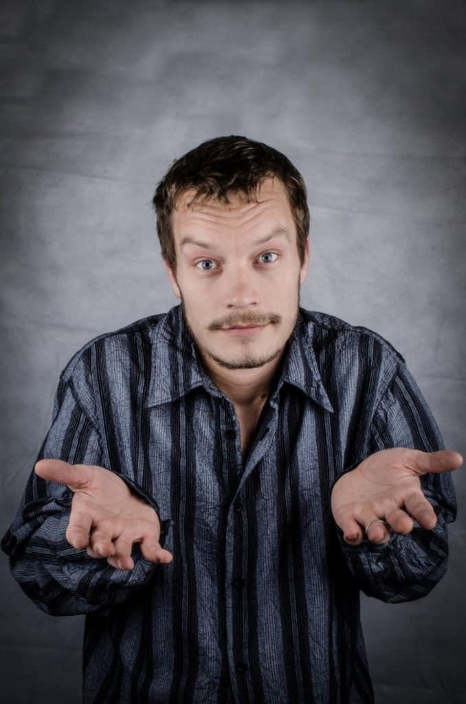 publicdomainpictures.net man shrugging