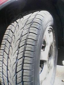 New car tires