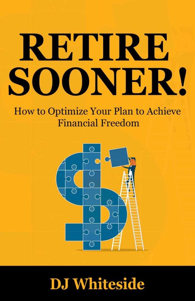 """What if there was a way to simply knock years, even decades, off of your retirement plan? That's what the focus of my new ebook, Retire Sooner!: How to Optimize Your Plan to Achieve Financial Freedom, is all about! In this book, we're going to take the """"normal"""" path to retirement and turbo-charge it with a bunch of different tools that will have you accelerating towards financial freedom before you know it! - MyMoneyDesign.com"""