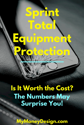 Every cell phone dealer tries to sell you on the idea that you NEED to have insurance on your device. But at the rates they're charging, does this make sense? Let's take a closer look at the Sprint Total Equipment Protection plan and really see if its worth it. Read more at MyMoneyDesign.com