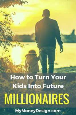 Would you like to turn your kids into millionaires someday? I've got a very simple strategy for how I plan to set mine up for financial success. See exactly how I plan to do this. - MyMoneyDesign.com