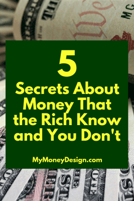 "How is it that the ""Rich"" become rich? What are the secrets to money that they seem to know and the rest of us don't? In this post, we're going to take a look at some of their best-working strategies and learn how we can use them in our own lives. Read on to learn more - MyMoneyDesign.com"