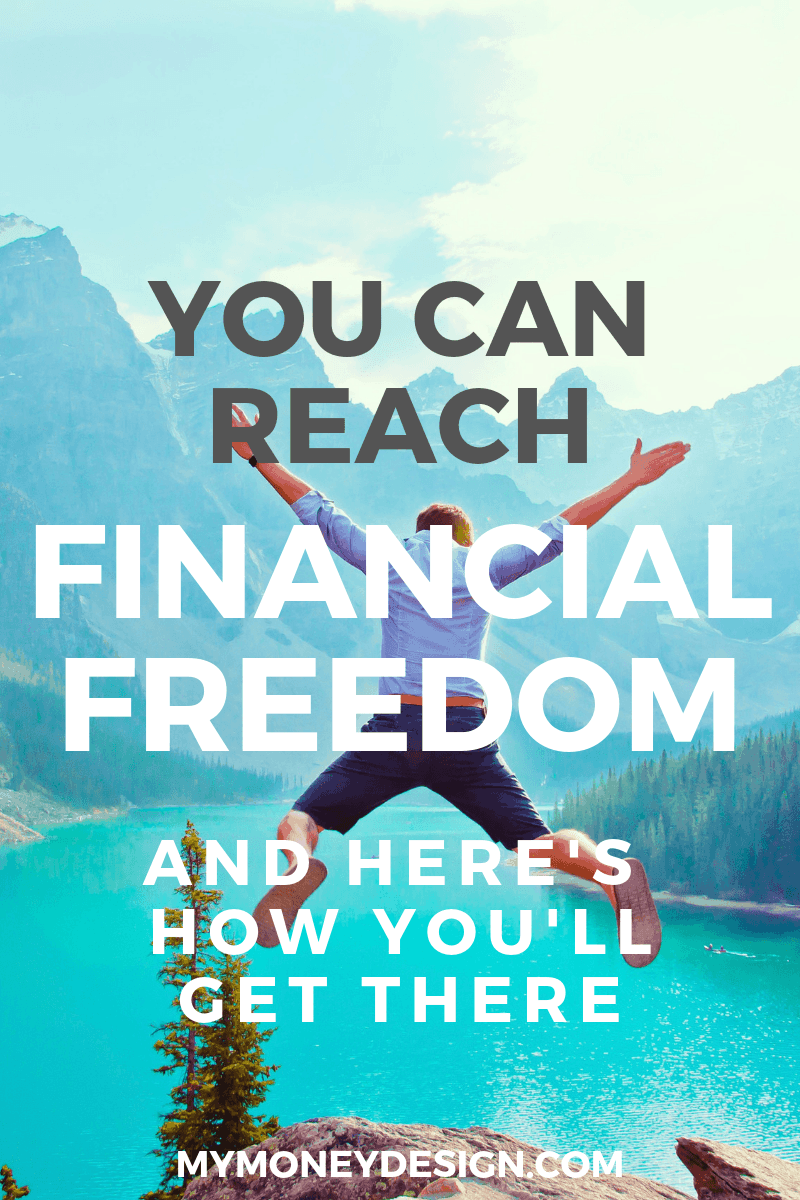 "Anyone can reach financial freedom. All it takes is the right amount of knowledge, discipline, and (most important) ""a plan"". Find out how you can get started at #MyMoneyDesign #FinancialFreedom"