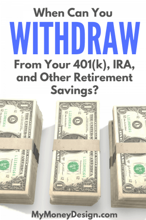 Best early retirement 401k withdrawal options