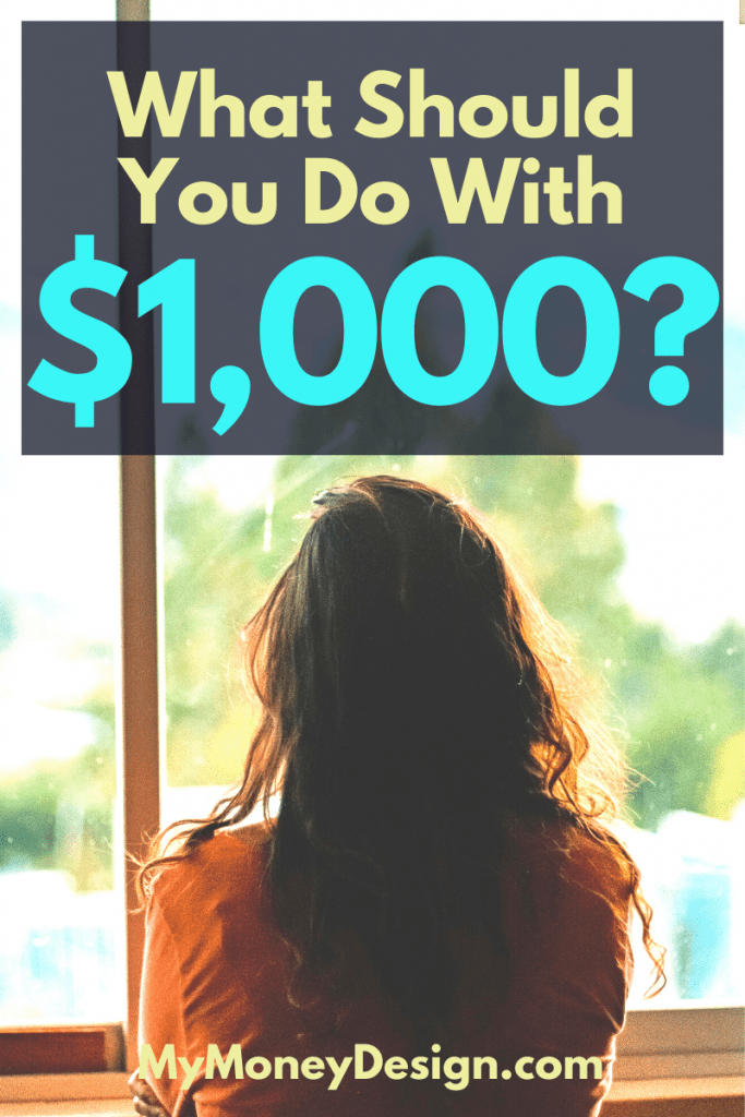 Got some extra cash? Here are 9 smart ways to invest ,000 that are sure to help you grow both financially as well as personally. #MyMoneyDesign #FinancialFreedom #WhatToDoWith1000Dollars #HowToInvest1000Dollars